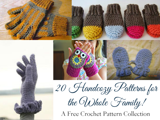 Weekly Gathering: 20 Handcozy Patterns for the Whole Family!